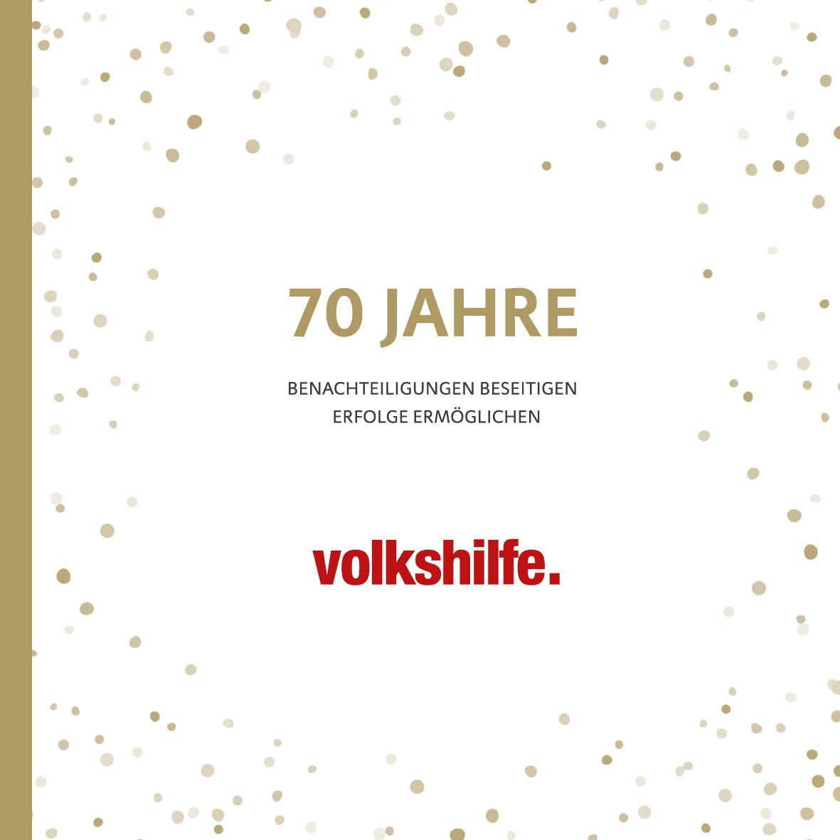 70 Jahre Volkshilfe Festschrift